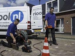 bedrijfswagen ladesysteem riool nl