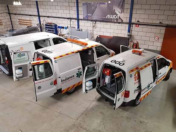 bedrijfswagen ladesysteem