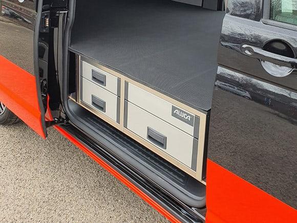 veilig ladesysteem bedrijfswagen