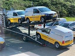 vloerladen bedrijfswagen mur airconditioning